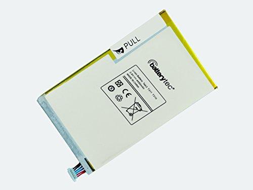 Batterytec Batterie pour Samsung T311 T310, aad508js/7-B. [origine 4450 mAh 12 mois de garantie]