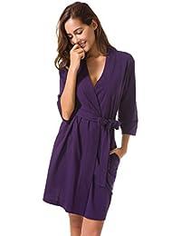 546332c11d Amazon.co.uk  Purple - Bathrobes   Nightwear  Clothing