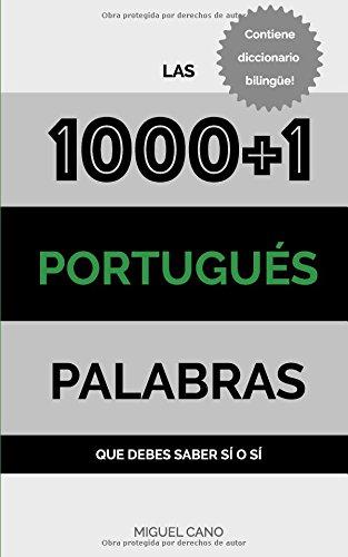 Portugues: Las 1000+1 Palabras que debes saber sí o sí