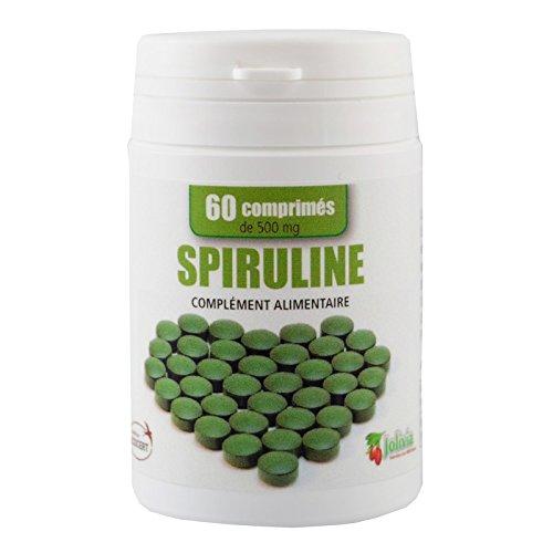 Spiruline Ecocert 60 comprimés 500 mg