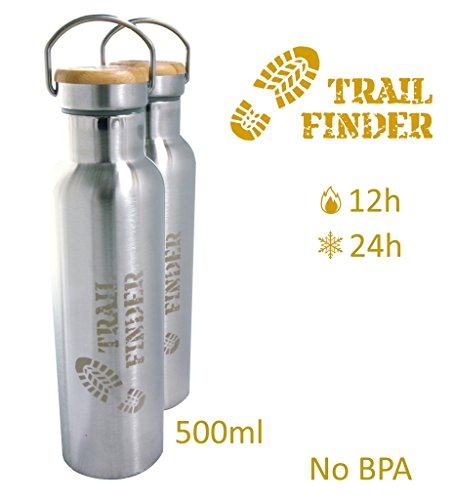 Trail-Finder-Bouteille-INOX-isotherme-1224h-double-paroi-et-sans-BPA-500ml