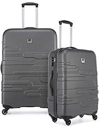 84eb9994f6880 Revelation Amalfi 2 Piece Suitcase Set Large and Medium Charcoal, Size: N/A