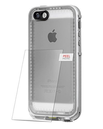 "Encased Tempered Glass Screen Protector for Lifeproof Nuud Case - iPhone 6 Plus 5.5"" (case not included) iPhone 6"