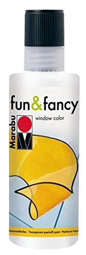 Fenstermalfarbe fun & fancy, Marabu, 80 ml Kristallklar