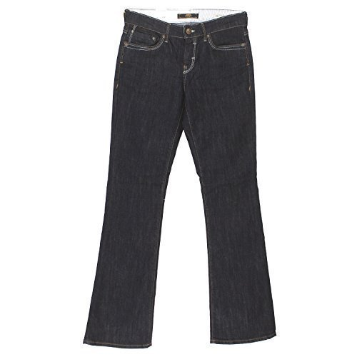 Mavi Damen Jeans Flare; 1013613128 Mid Rise, Boot Cut, Rynse Uptown Gr. 30/32 (Mid-rise Bootcut-stretch-jeans)