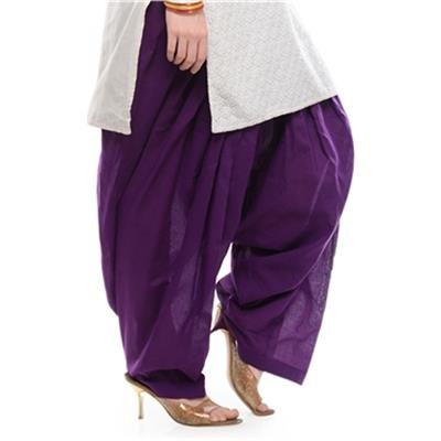 FASHION By The BrandStand Semi Patiala Salwar - Purple