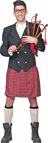 Generique Schotten Kostüm Cameron für Herren Gr. 48 50 (Theater Kostüm Schottland)