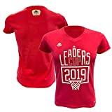Ligue Nationale de Basket officiel T-Shirt De Supporter Femme Rose FR : S (Taille Fabricant : S)