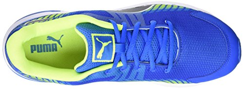 Puma Sequence V2, Scarpe da Corsa Uomo Blu (Blau (Electric Blue lemonade-puma black-safety Yellow 10))