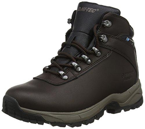 Hi-Tec Eurotrek Lite Waterproof, Chaussures de Randonnée Hautes Femme, Marron, 38 2/3 EU
