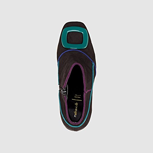 La Redoute Mademoiselle R Donna Boots con Tacco Dettaglio Fibbia Nero