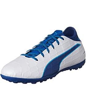 Puma Evotouch 3 TT Jr, Botas de fútbol Unisex niños