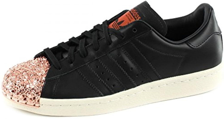adidas Superstar 80s Metal Toe TF W, Core Black/Core Black/Copper Metallic