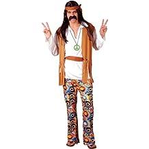 1960s - Disfraz de hippie para hombre, talla M (EM-3035. M)