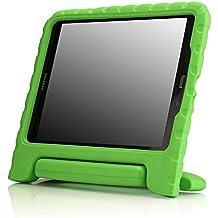 MoKo Samsung Galaxy Tab A 9.7 Pulgadas 2015 - Tableta Funda, ligero y super protective funda diseñar especialmente para los niños, verde