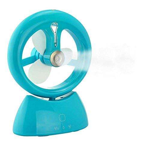Ventilador portatil Clip,ventilador USB humidificador, con enfriamiento de la niebla humidificador,ventilador Hidratante/...