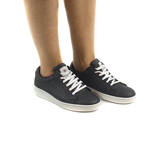 NAE Basic Schwarz – vegane Sneaker aus Ananas-Blattfasern – unisex - 5