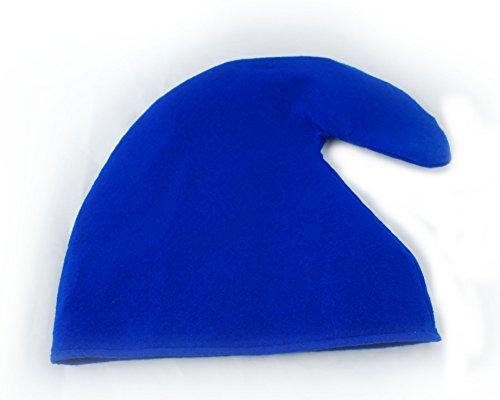 Zwergenmütze in blau für Erwachsene - Zwergen Hut Mütze (Hut Erwachsene)