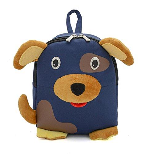 sunnymi Unisex Gute Qualität★Kinder Rucksack★ Kinder Gartentasche/Karikatur Tier Süßer Welpe Muster /Mini Backpack Mädchen Jungen/Schule Baby-Kindergarten (Boy Preppy Kostüm)