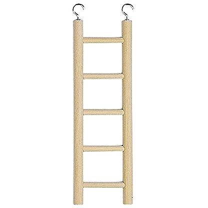Ferplast PA 4002 Wooden Ladder - Brown - 1