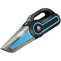 GH XCHQ- Outil de nettoyage filaire portatif de puissance élevée de pompe à air multifonctionnelle de pompe à air d'aspirateur avec l'éclairage de LED (Couleur : Bleu)