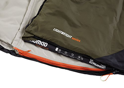 Nomad Triple-S Junior Sleepingbag Junior Charcoal/Whale 2016 Schlafsack - 5