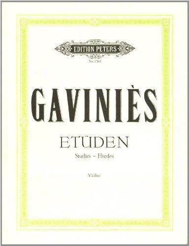24 etüden Matinées für Violine Solo/24 études matinées pour violon solo