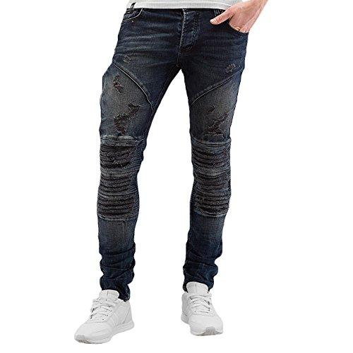 2Y Herren Jeans / Skinny Jeans Derry Blau