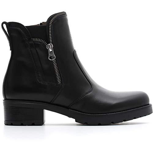 Nero giardini donna tronchetto a807050d nero scarpe in pelle. autunno inverno 2019 eu 40