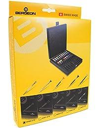 Bergeon 30080-A10 Set de 10 Destornilladores de Relojero - KY30080-A10 - Herramienta de Relojero