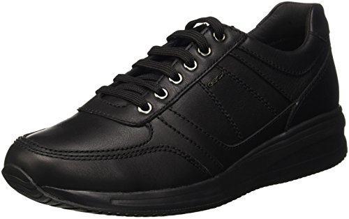 Geox U dennie B, Baskets Basses Homme Schwarz (BLACKC9999)