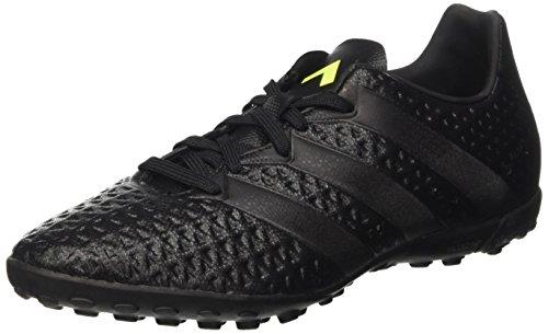 Adidas Ace 16.4 Tf, Scarpe da Calcio Allenamento Uomo, Nero (Core Black/Solar Yellow), 44 EU
