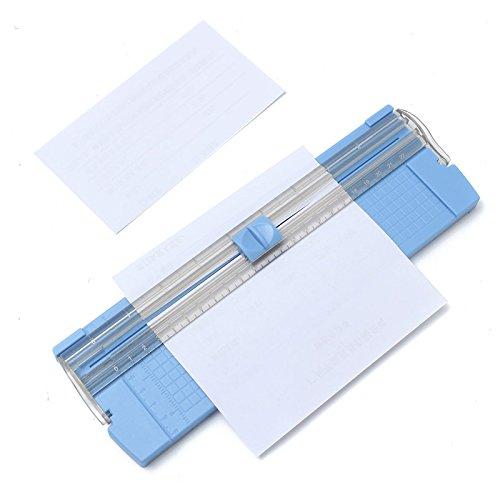 TuToy 26.5 x 8 x 1Cm A4/A5 Portable Paper Trimmer Photo Cutter For Cutting Printer Paper Photo Paper Photo Paper (Portable Paper Trimmer)