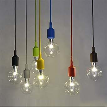 Couleur silicone luminaire suspension style europ en - Luminaire pour salle de bain ikea ...