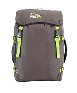 Cabin Max – Sac à dos étanche pour ordinateur portable. Idéal pour tous les jours, la gym, le sport, la plage. Garanti 3 ans – Gris et Vert
