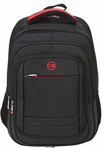 """City Bag - Mochila para la escuela o el trabajo - Apta para portátiles de hasta 15,6"""" - negro - grande"""