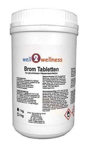 Brom Tabletten 20g, 1,0 kg Dose