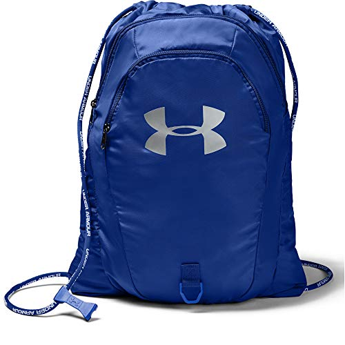 Under Armour Undeniable Sackpack 2.0, Unisex-Erwachsene, Undeniable Sackpack 2.0, Royal (400)/Silver, One Size Fits All