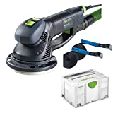 Festool Getriebe-Exzenterschleifer ROTEX RO 150 FEQ-Plus Systainer + 2 Zurrgurte