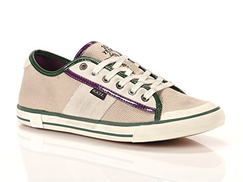 D.A.T.E Sneakers low canvas beige