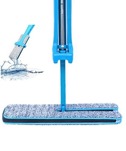 Self Cleaning Type Dual Action Self-wringing Flipping Flat Mop – Wet & Dry Mopping in 2 side