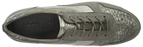 Ecco Touch Sneaker, Baskets Basses Femme Gris (WARM GREY MET.59967)