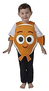 Rubies - Disfraz de Nemo para niños, infantil talla 1-2 años (Rubie