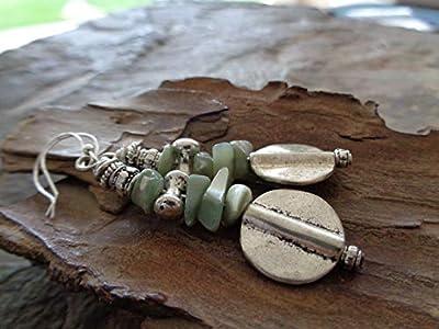 ? Boho Tribal Bali Style & Perle ? Boucles D'oreilles Uniques