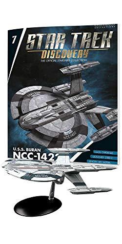 - die Raumschiffsammlung - Eaglemoss #7 mit englischem Magazin U.S.S. Buran NCC-1422 ()