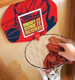 IDEEN im Leben Basketball Wäschesammler Wäschekorb und Hoop 2-in-1-über der Tür Kinder Kleidung behindern