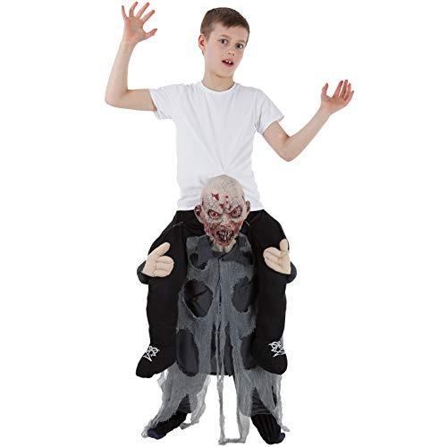 Generique - Costume da Bambino a Spalle dello Zombie Morphsuits Taglia Unica