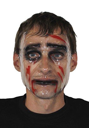 DURCHSICHTIGE GESICHTSMASKE FÜR JEDE ART DER MASKEN VERKLEIDUNG= VON (Kostüme The Billy Puppet)