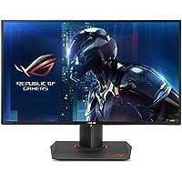 """ASUS  PG279Q ROG Swift - Monitor para PC Desktop   de 27"""" (165 Hz, WLED IPS, resolución WQHD 2560 x 1440, 16:9, brillo 350 cd/m2, contraste 1.000:1, respuesta 4 ms GTG, G-SYNC, 2 altavoces estéreo 2 W RMS)"""