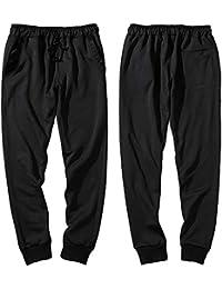 Roiper Pantalons de Sport Homme Pantalon Jogging Bas de Survêtement Sweat  Pants Sport Slim Fit e59a6c99aba